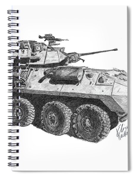 Lav-25 Spiral Notebook