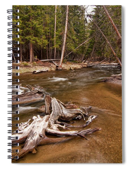 Lava Creek Spiral Notebook