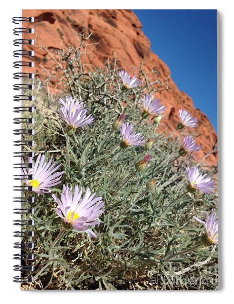 Lavender Drops Spiral Notebook