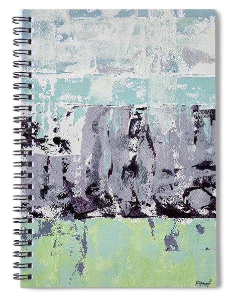 Lavender Landscape Spiral Notebook