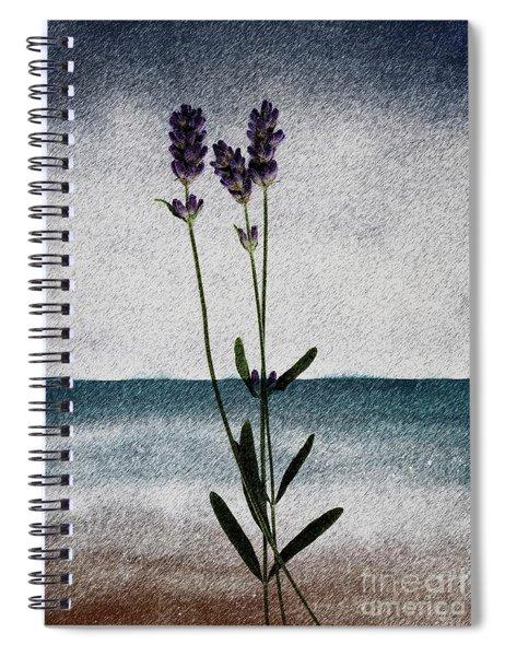 Lavender Ocean Breath Spiral Notebook