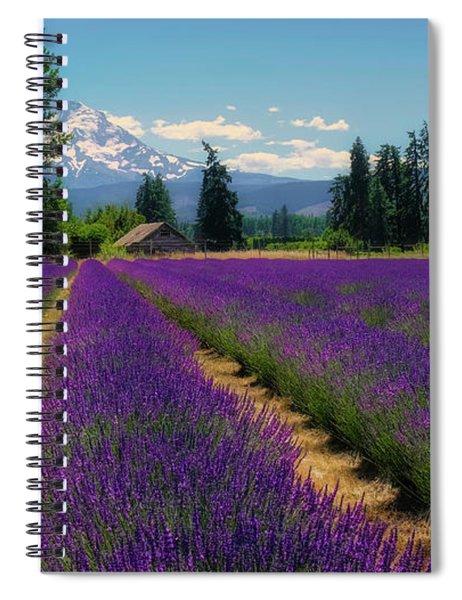 Lavender Valley Farm Spiral Notebook
