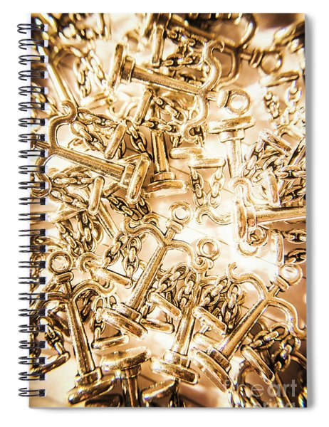 Law And Justice Abstract Spiral Notebook