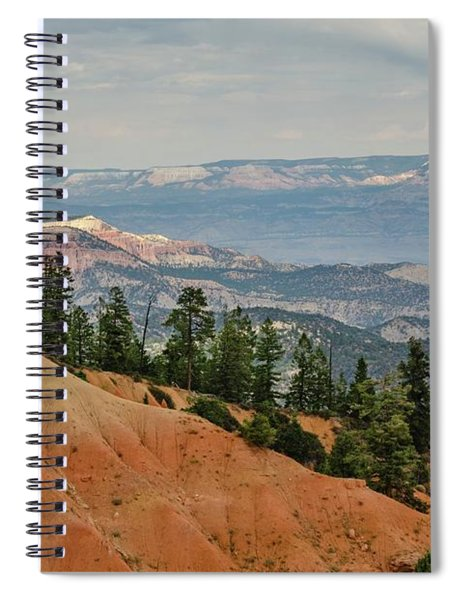Layers And Light At Bryce Canyon Spiral Notebook