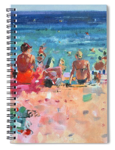 Lazy Sunny Afternoon Spiral Notebook