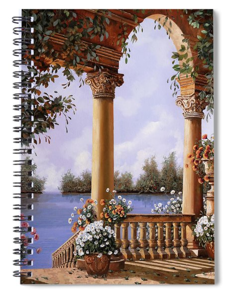 Le Arcate Chiuse Sul Lago Spiral Notebook