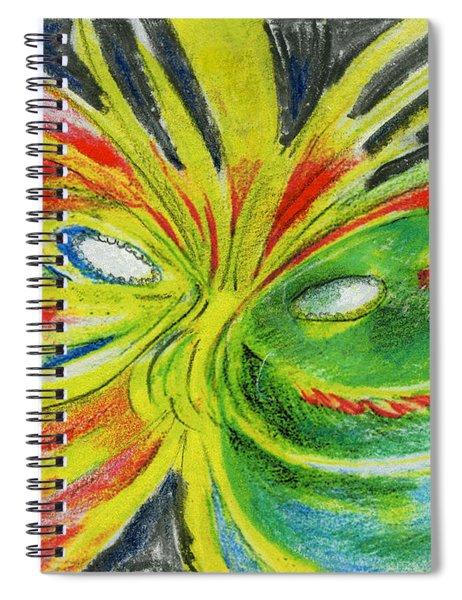 Le Bon Temps Spiral Notebook