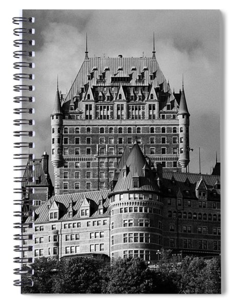 Le Chateau Frontenac - Quebec City Spiral Notebook