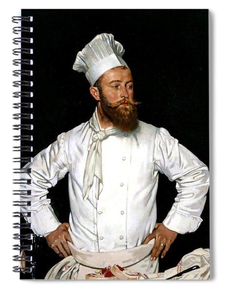Le Chef De L'hotel Chatham Spiral Notebook