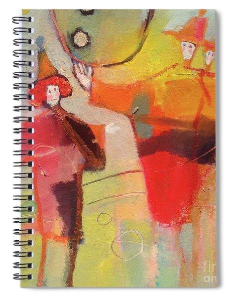 Le Cirque Spiral Notebook