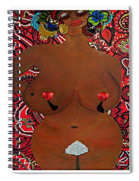 Le Grande Madame Spiral Notebook