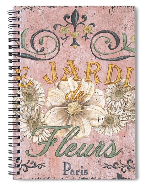 Le Jardin 1 Spiral Notebook