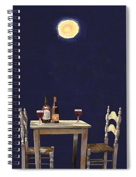 Le Ombre Della Luna Spiral Notebook