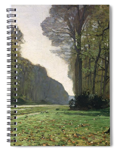 Le Pave De Chailly Spiral Notebook