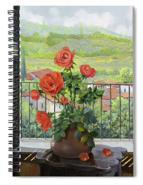 Le Persiane Sulla Valle Spiral Notebook