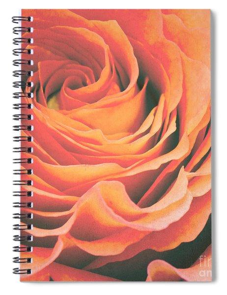 Le Petale De Rose Spiral Notebook