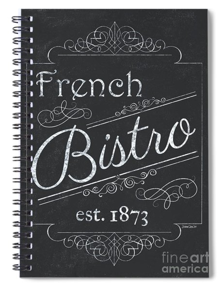 Le Petite Bistro 4 Spiral Notebook