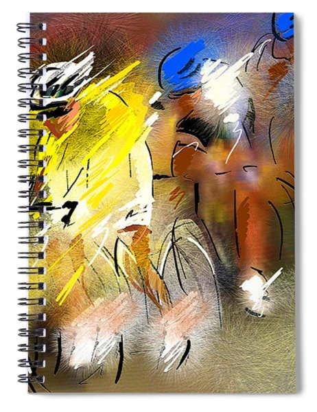 Le Tour De France 05 Spiral Notebook
