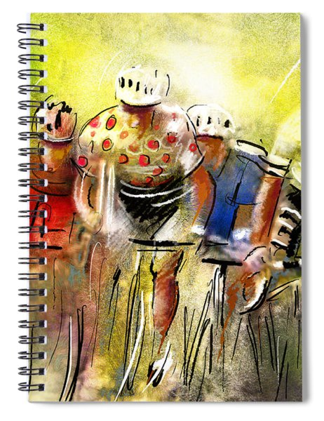 Le Tour De France 07 Spiral Notebook