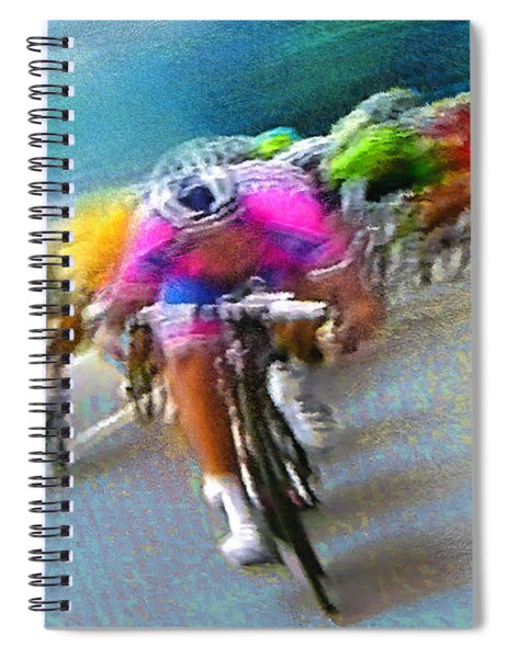 Le Tour De France 09 Spiral Notebook
