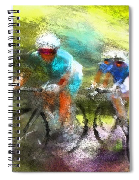 Le Tour De France 11 Spiral Notebook