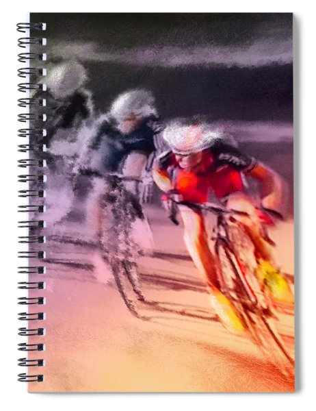 Le Tour De France 13 Spiral Notebook