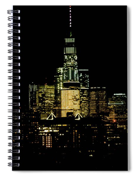 Le Tour Du Liberte Spiral Notebook