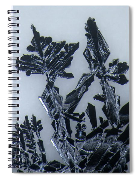 Lead Crystal Spiral Notebook