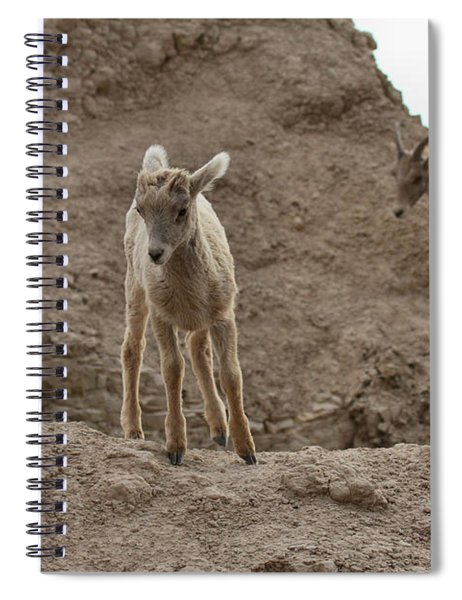 Leading The Family Spiral Notebook