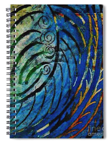 Leaf Bones Spiral Notebook