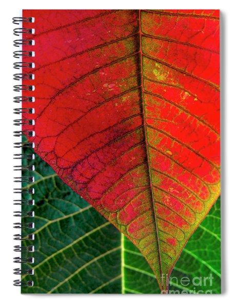 Leafs Macro Spiral Notebook