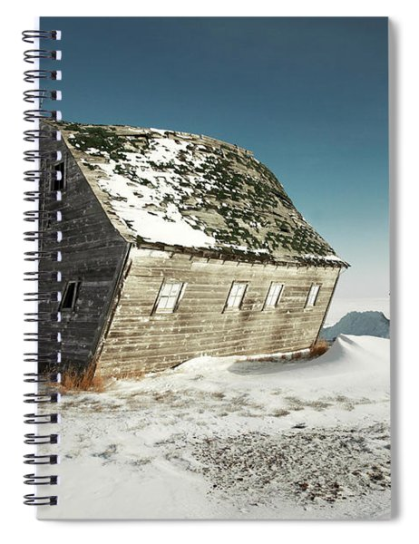 Leaning Barn Spiral Notebook