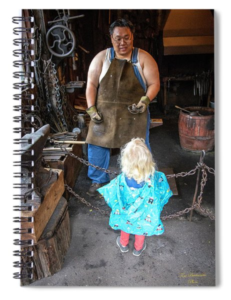 Learning About Metal Spiral Notebook