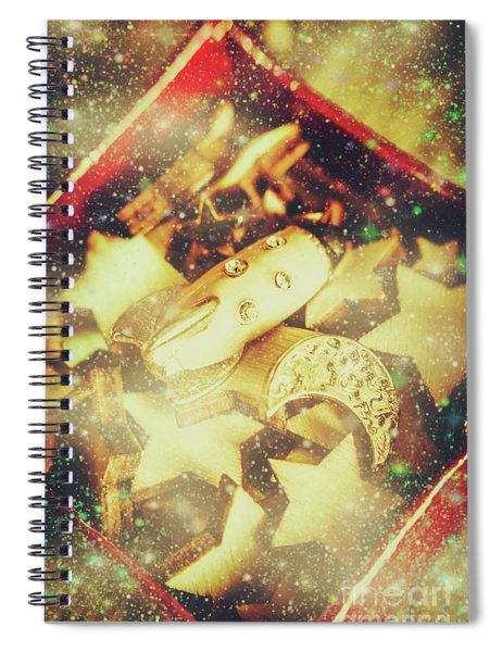 Learning The Magic Of Stars And Space Spiral Notebook