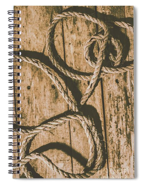 Learning The Ropes Spiral Notebook
