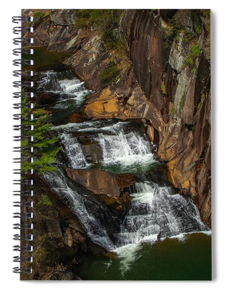 L'eau D'or Falls Spiral Notebook