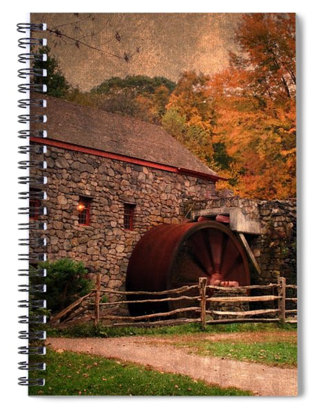 Leave A Light On For Me Spiral Notebook