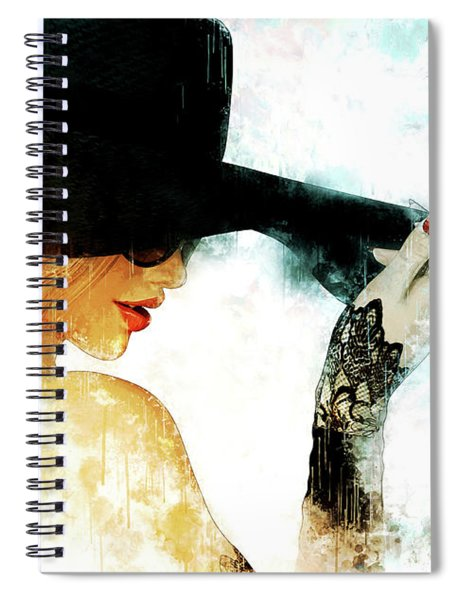 Leave Your Hat On Spiral Notebook