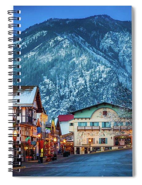 Leavenworth Alpine View Spiral Notebook