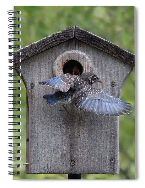Leaving Home Spiral Notebook
