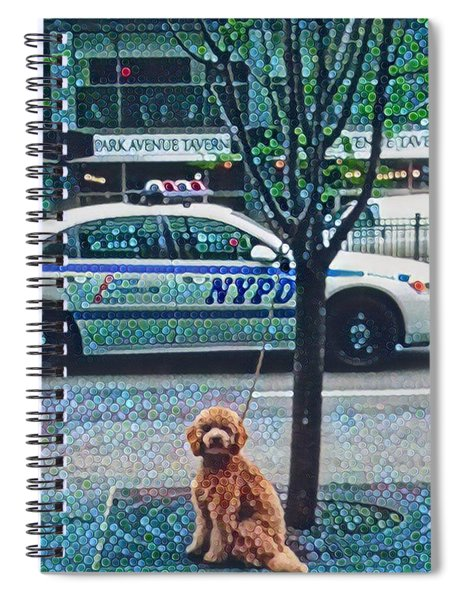 Leaving Nyc Spiral Notebook