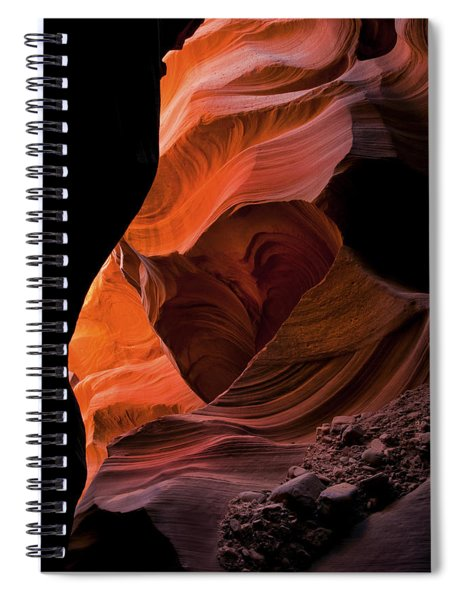 Left By Floodwaters Spiral Notebook