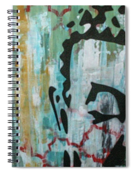 Left Heart  Spiral Notebook