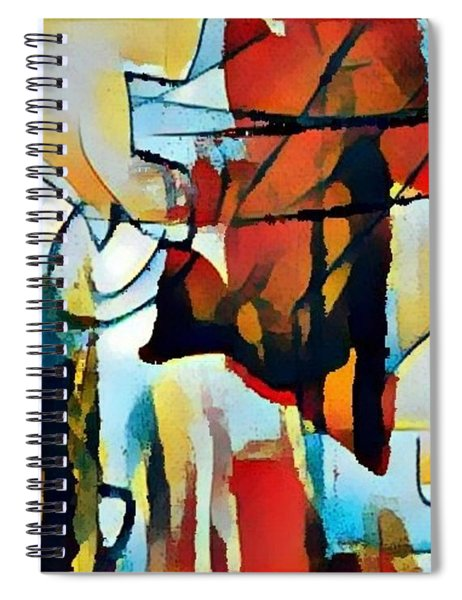 Left To Die Upon The Ground Spiral Notebook