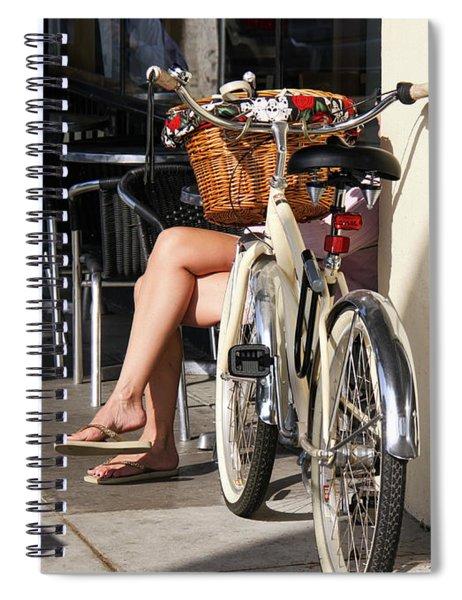 Leg Power - On Montana Avenue Spiral Notebook
