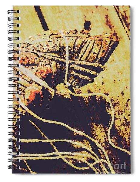 Legends Of A Fall Spiral Notebook