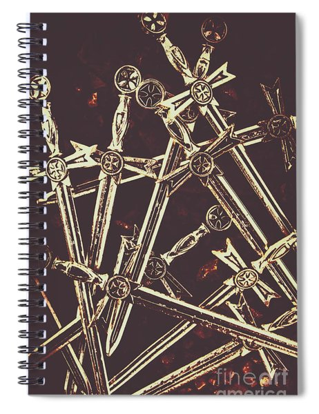 Legion Of Arms Spiral Notebook