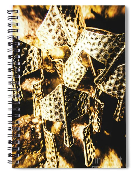 Legion Of History Spiral Notebook