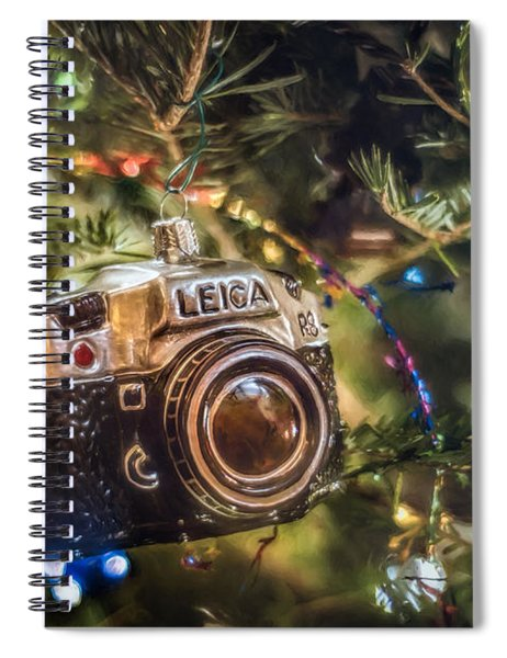 Leica Christmas Spiral Notebook