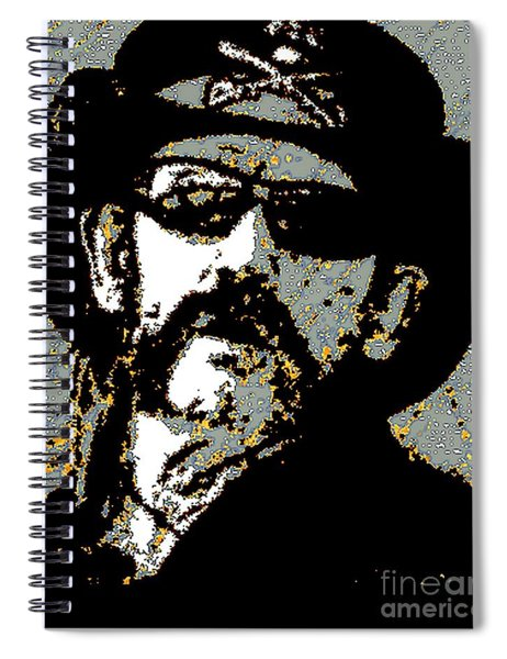 Lemmy K Spiral Notebook